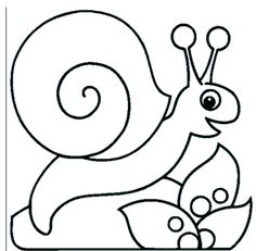 Snail on a leaf color page. Animal coloring pages. Coloring pages for kids. Thousands of free printable coloring pages for kids! Coloring Letters, Animal Coloring Pages, Colouring Pages, Doodle Coloring, Leaf Coloring, Easter Bunny Colouring, Cute Clipart, Guache, Applique Patterns