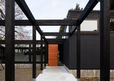Takuya Hosokai's market pavilion is set in a Japanese woodland