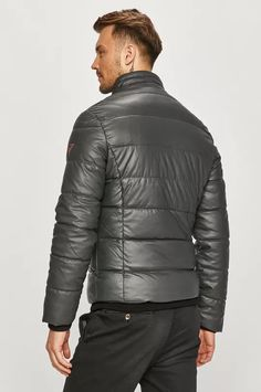 Guess Jeans - Яке | ANSWEAR.bg Guess Jeans, Modern Mens Fashion, Mens Trends, Modern Man, Personal Style, Winter Jackets, Spandex, Model, Products