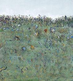 Fred Williams, ORANGE AND GREEN LANDSCAPE