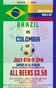 Fourth of July 2014 World Cup Party @Bulerias Tapas Chicago