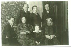 The Rubinstein family  from Bialystok  perished in the Treblinka extermination camp