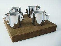 Espresso cups by product designer Vladimir Rachev.