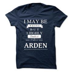 [Top tshirt name tags] I LOVE ARDEN TSHIRT Free Ship Hoodies Tee Shirts