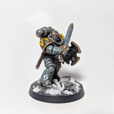 Pete Whitlam (@upplander) • Instagram photos and videos Warhammer Art, Warhammer 40k Miniatures, Marine Colors, Space Wolves, Mini Paintings, Space Marine, Colour Schemes, Emperor, Sons