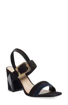 Tory Burch 'Palermo' Quarter Strap Sandal (Women) available at #Nordstrom