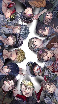 Twitter I Love Anime, Anime Guys, Anime Group, Cute Anime Chibi, Manga, Cute Pictures, Cool Art, Character Design, Cute Animals