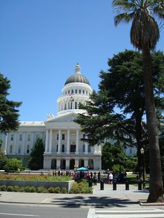 California State Capitol, Sacramento CA and also many capitols around the country (25+)