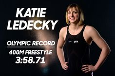 NBC Olympics ‏@NBCOlympics  Aug 7 .@USASwimming's @katieledecky doing Katie Ledecky things. #Swimming