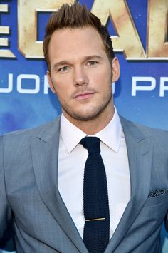 """Chris Pratt (Peter Quill) at the World Premiere of Marvel's """"Guardians of the Galaxy"""""""
