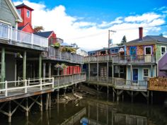 Kennebunk River Kennebunkport Maine Fine Art 4 by LifeTravelPhotos