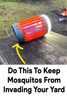 Incredible $39 portable bug zapper uses the latest in beg tech to attract and kill pesky mosquitoes, and keep them out of your yard while you're enjoying being outside. It's perfect for camping trips, outside dinners, or anywhere you go where you don't want to get bit by bugs. #1 chemical free bug and mosquito killer. A must have this summer. Make sure to get yours before they're sold out! Mosquito Trap, Mosquito Killer, Bug Zapper, Fish Camp, Backyard Projects, Farmhouse Furniture, Pest Control, Vintage Kitchen, Things To Buy