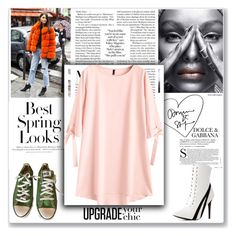 """"""":)"""" by melaniw ❤ liked on Polyvore featuring Wild Diva, Converse and H&M"""