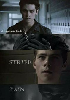 """A nogitsune feeds off chaos... strife... pain..."" - Teen Wolf S3b #Void #Stiles"