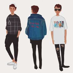 A few of my favorite dan outfits