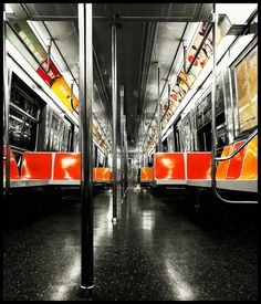 Subway. color palate