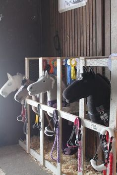 The most important role of equestrian clothing is for security Although horses can be trained they can be unforeseeable when provoked. Riders are susceptible while riding and handling horses, espec… Toy Horse Stable, Horse Camp, Horse Stalls, Horse Barns, Horse Themed Bedrooms, Stick Horses, Tallit, Horse Crafts, Hobby Horse