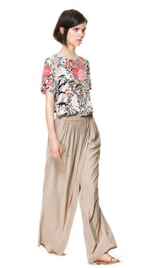 WRAP TROUSERS - Trousers - Woman | ZARA United States
