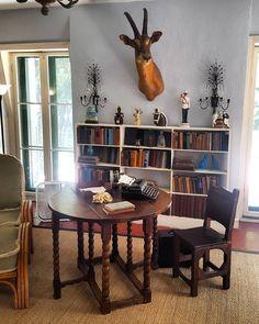 Bookshelves at Hemingways Home - Florida Bookshelves, Bookcase, Hemingway House, Old Things, Home And Garden, The Originals, Florida, Display, Jackets
