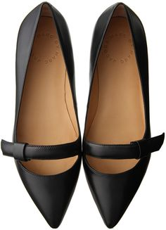 Marc by Marc Jacobs マーク BY マークジェイコブス BALLERINA / strap flats on ShopStyle