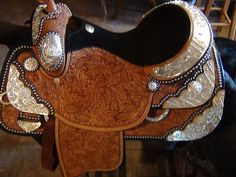 Tex Tan 16 Inch Imperial Western Show Saddle. My absolute dream saddle.  It's perfect in every detail!