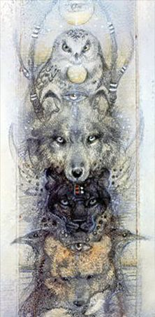 © Cinnamon Moon Animal Spirits work with us in many capacities and on a variety of levels. As Totems they reflect aspects of our personalities teaching us to know ourselves better and understand ou