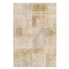 KAS Oriental Rugs Donny Osmond Home Timeless 8004 Champagne Tapestry Area Rug - DOT800422X711RU