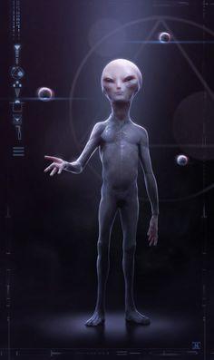 grey alien   Grey Alien
