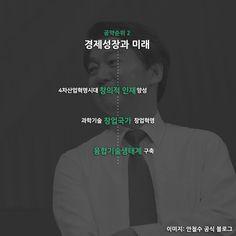 2017년 대통령선거 공약비교. 안철수 포스터와 정책공약!