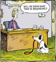 Dog reminder. Speed Bump on GoComics.com #Dogs #Walking #humor #Comics