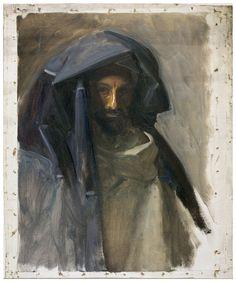 DesimoneWayland — John Singer Sargent, Man in a Blue Mantle 1891