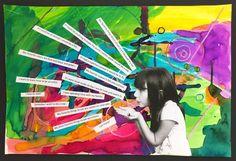 Grade Art Lessons - Grade Art Lessons – Art with Mrs Filmore The Effective Pictures We Offer You About crochet pr - Class Art Projects, Classroom Art Projects, Art Classroom, Collaborative Art Projects For Kids, Spring Art, Summer Art, Arte Elemental, 2nd Grade Art, 2nd Grade Crafts