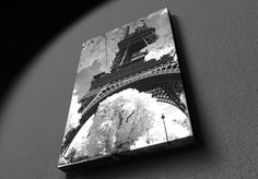 Paris - Eiffel tower - Canvas Paris Eiffel Tower, Canvas Frame