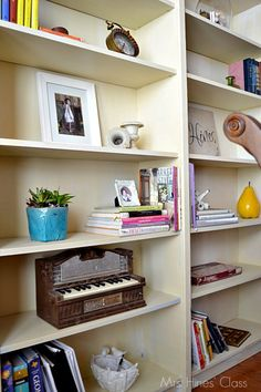 Diy Built-in Bookcases