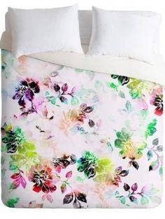 Kess InHouse Louise Machado Cycle Chic Blue Purple Vector 23 x 23 Square Floor Pillow
