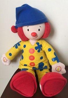 "Disney JoJos Circus Bedtime Talking Clown Plush Doll 15"""