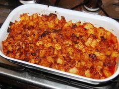 Recept: Pečené brambory se vším, co dům dal   Tradičnírecepty.cz Macaroni And Cheese, Ethnic Recipes, Food, Mac And Cheese, Essen, Meals, Yemek, Eten