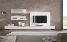 mueble comedor tv moderno lacado ginza s a brito