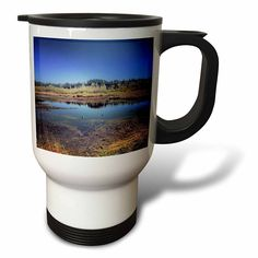 #coffee #mug #drivesafe #commuter #travel #work #cup #drink #gifts #art Amazon.com: DYLAN SEIBOLD - PHOTOGRAPHY - DUCK POND - 14oz Stainless Steel Travel Mug (tm_244545_1): Kitchen & Dining