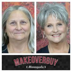 Before and After Haircut 340725528057603150 - beforeafter. Funky Short Hair, Short Grey Hair, Short Hair With Layers, Short Hair Cuts For Women, Short Hairstyles For Women, Short Hair Styles, Braided Hairstyles, Before And After Haircut, Beauty Makeover
