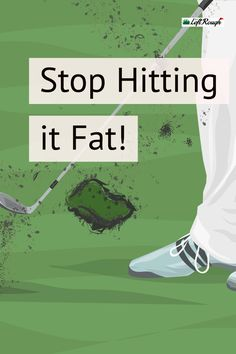 Fat shots are the definition of momentum killers. Nothing can be more frustrating than laying the sod over the ball after hitting a killer drive! We've got a few keys that might help you eliminate the fat shot from your game. Golf Betting, Golf Ball Crafts, Golf Practice, Woods Golf, Golf Videos, Golf Instruction, Golf Tips For Beginners, Perfect Golf, Golf Training