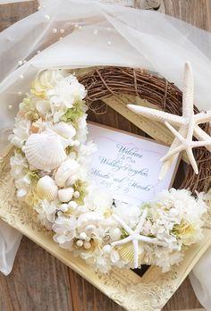 Nautical Wreath, Dream Wedding, Wedding Day, Summer Wreath, Beach Themes, Flower Arrangements, Shabby, Florida, Wreaths
