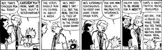 calvin and hobbes - chicken pox
