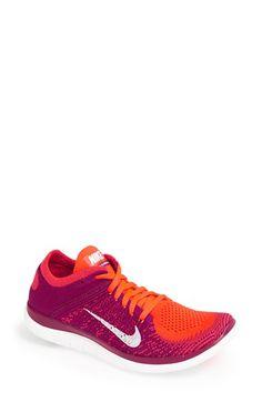 Nike 'Free Flyknit 4.0' Running Shoe (Women) | Nordstrom Gode, Roupas Da Nike, Tênis Nike, Calçados Adidas, Nike Outlet Tênis, Tênis Nike Grátis, Nike Air Max Corrida, Tendências 2016, Tênis
