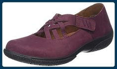 Hotter Damen Sharon Mary Jane Halbschuhe, Red (Maroon), 35.5 EU - Mary jane halbschuhe (*Partner-Link)
