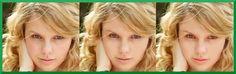 Fotografía de la cantante Taylor Swift retocada con herramientas GIMP. Corrigiendo imperfecciones y dando un maquillaje digital.