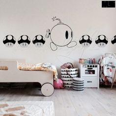 minimalstyle-baby's room-super-mario