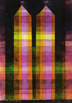 """Paul Klee (1879-1940) """" Double Tower."""""""