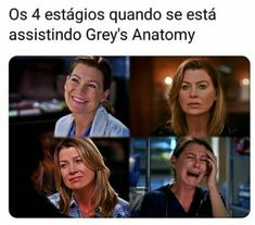 Dihdbsjskmshs triste mas verdade Grey's Anatomy Hospital, You Are My Person, Supergirl, Grey Stuff, Cristina Yang, Greys Anatomy Memes, Laughing And Crying, Series Movies, Tv Shows