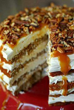 Caramel-Apple Mousse | http://moussecakes.blogspot.com